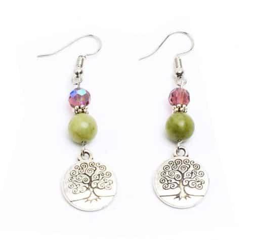 Preciosa & Connemara Tree of Life Earrings